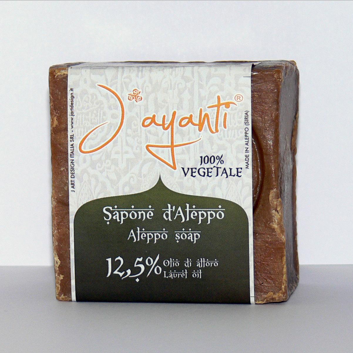Aleppo Sapone 12.5% Alloro