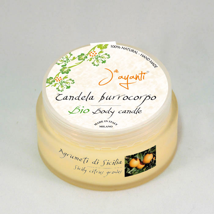 BIO BODY BUTTER - CANDLE SICILY CITRUS GROVES