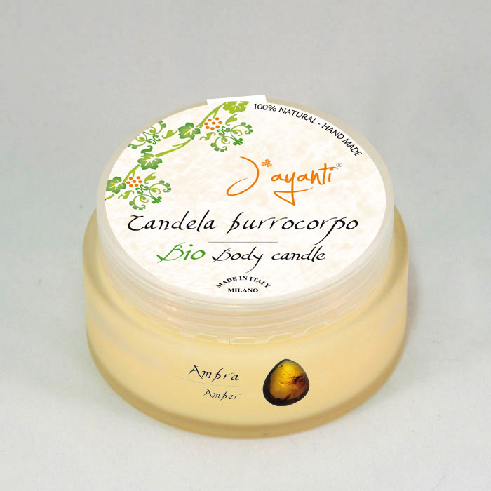 BIO BODY BUTTER - CANDLE AMBREINE