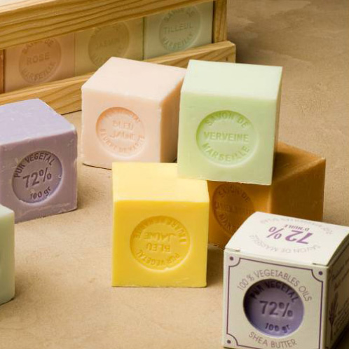 SOAP WITH SHEA BUTTER (in different frangrances)