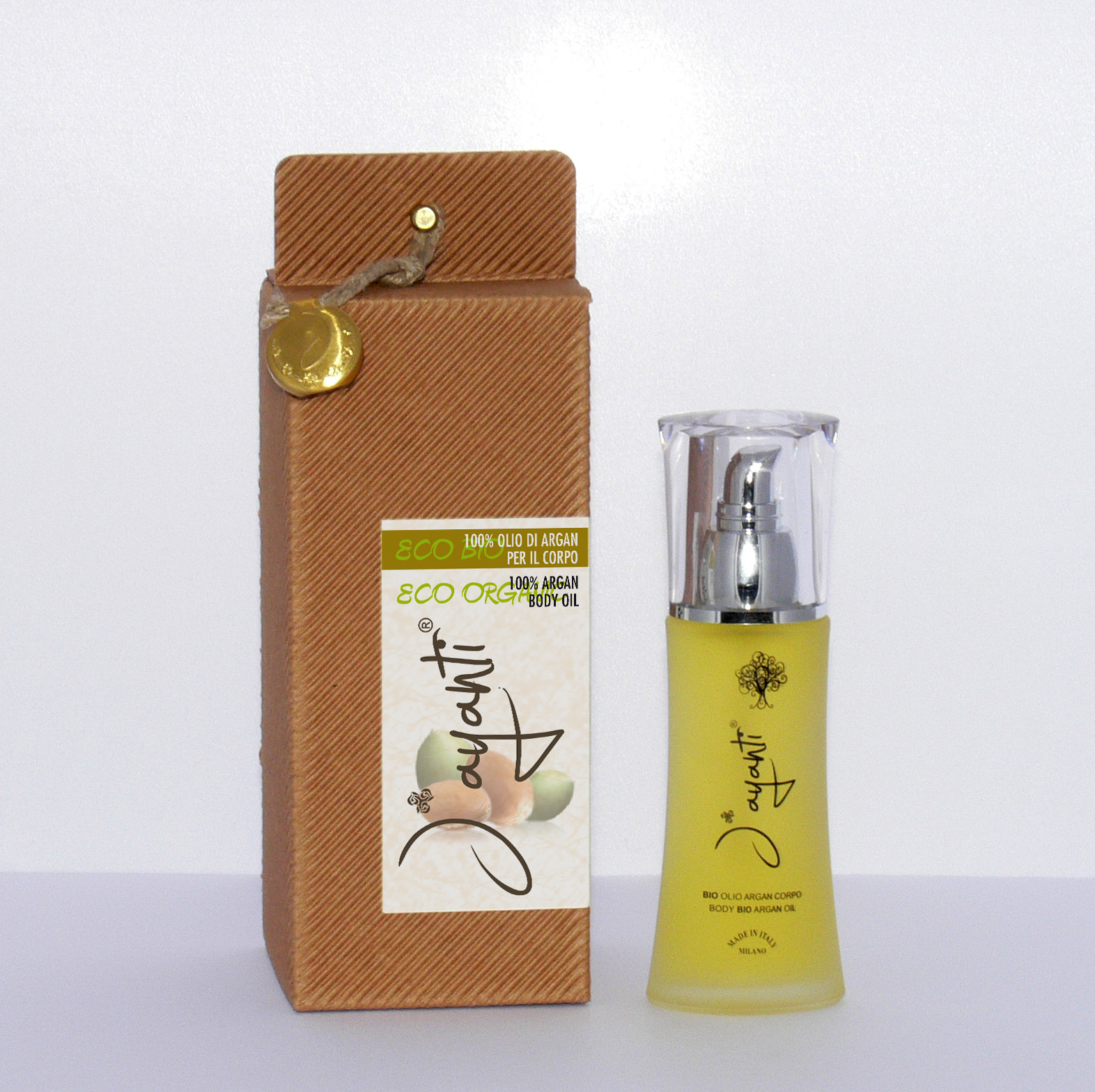 BODY OIL WITH ARGAN