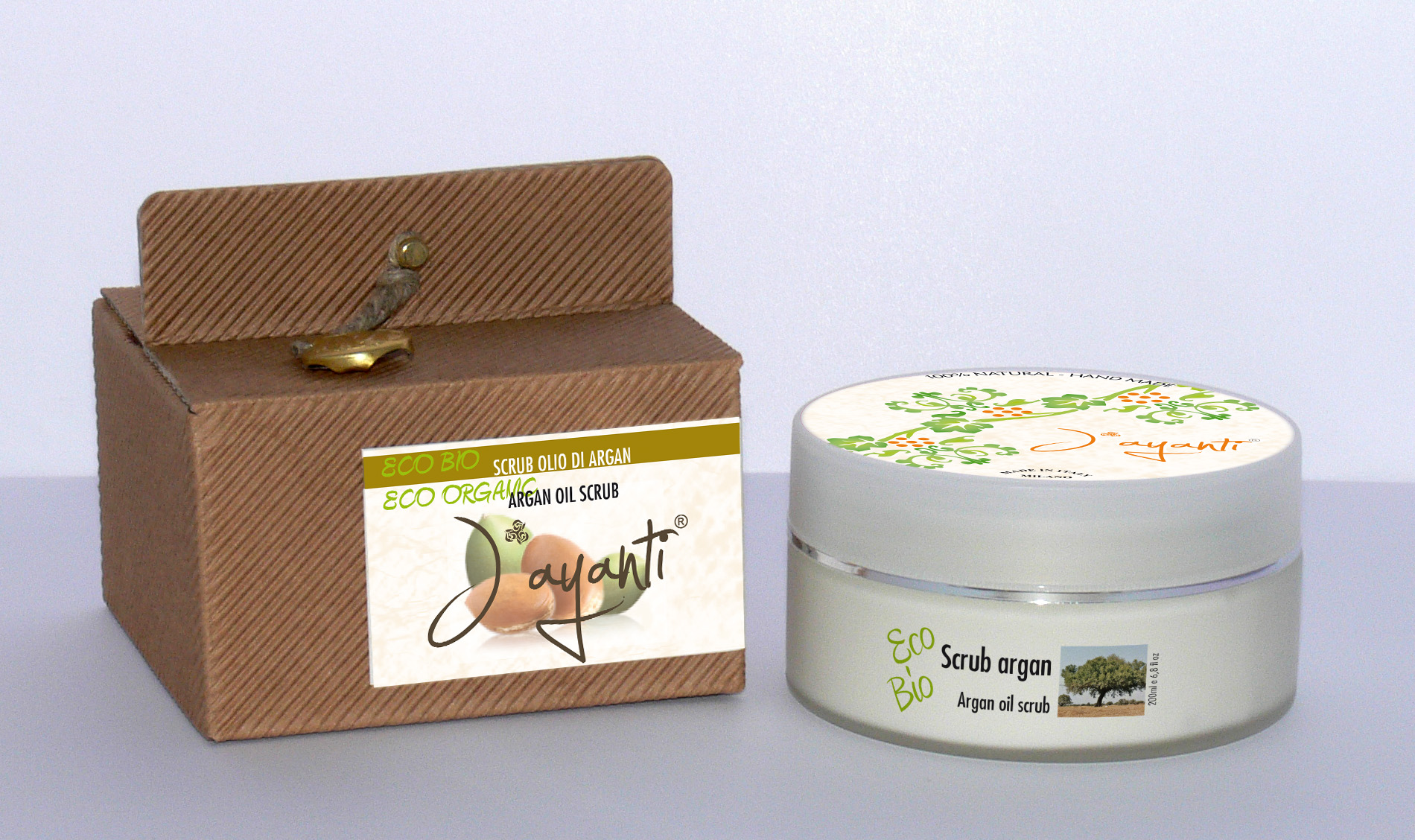 ARGAN OIL  SCRUB