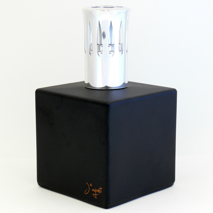 CATALITIC GLASS LAMP - BLACK