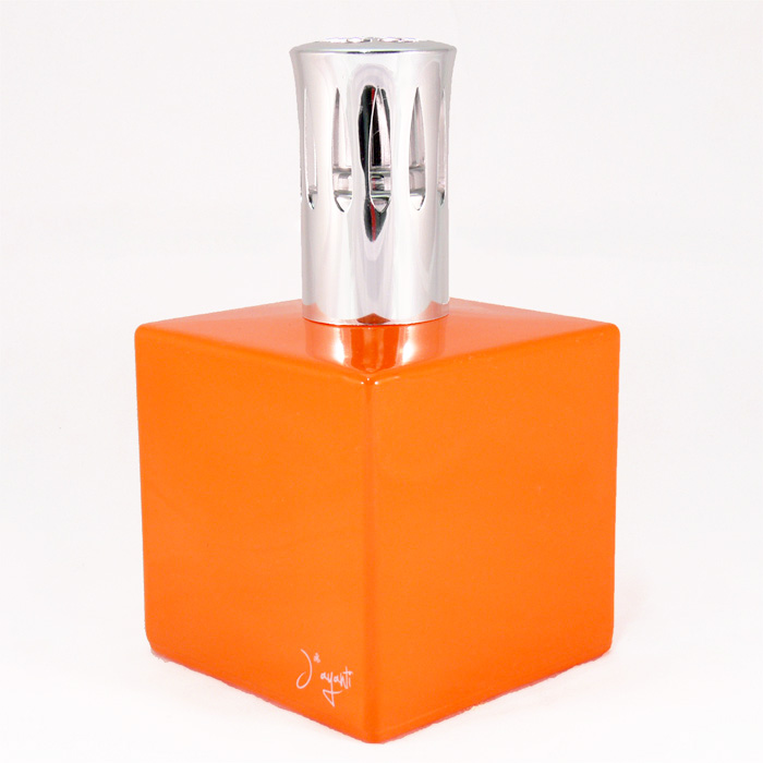 CATALITIC GLASS LAMP - ORANGE