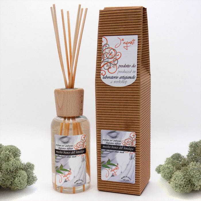 FRAGRANCE DIFFUSOR - HIMALAYAN WHITE MUSK