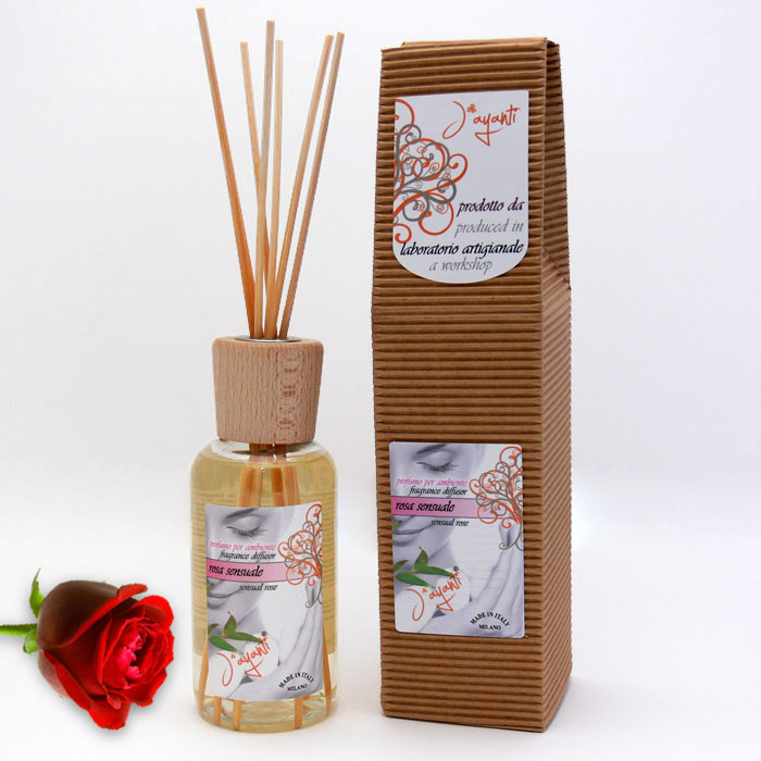 FRAGRANCE DIFFUSOR - SENSUAL ROSE